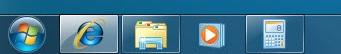 Windows 7: Start traka
