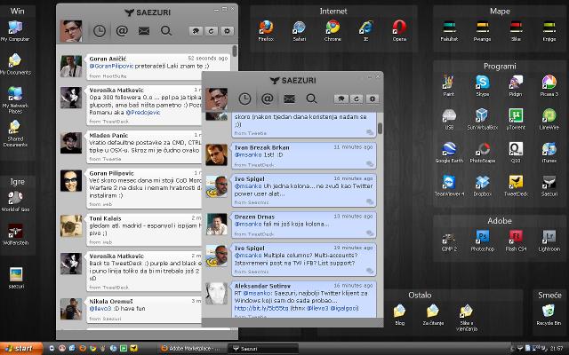 saezuri on desktop