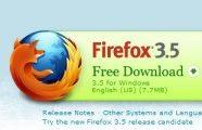 Firefox 3.5 za Windows, Linux i OSX