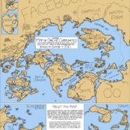 Kako bi izgledao svijet kada bi društvene mreže bile države?